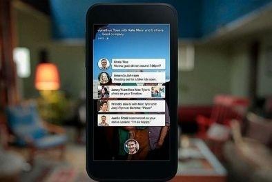 Facebook  с ново приложение за мобилните устройства - Facebook Home