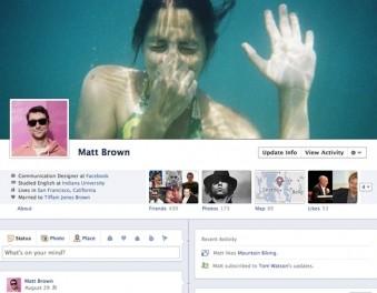 Facebook ще въведе линия на времето