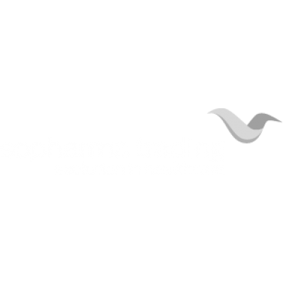 Sopharma Logo White