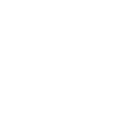 Costa Logo White